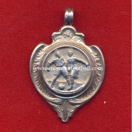 Sterling Silver Football Medal, England circa 1920