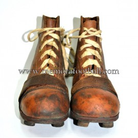 "Botas de Fútbol de niños ""PENTAGON"" 1920-30s Reino Unido"