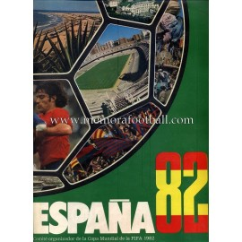 Presentation Bulletin FIFA World Cup 1982