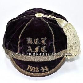 1913-14 N.C.T. A.F.C  Rugby / Football cap