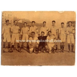 """Real Madrid FC"" 1922-1923 card"
