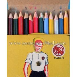 Lápices de colores del Real Madrid CF 1940s