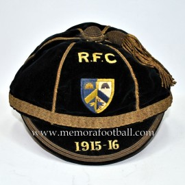 1915-16 RFC football cap