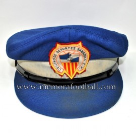 1970s CE Sabadell steward cap