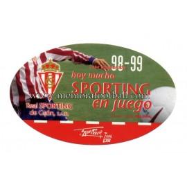 Pegatina del Sporting de Gijon 98-99