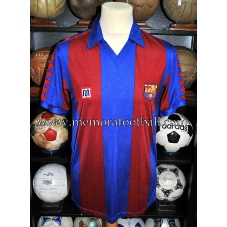 FC Barcelona Nº19 Copa de Europa 1985-86