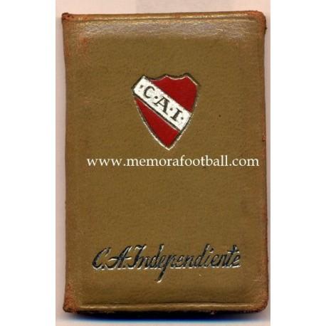 1970 Club Atlético Indepentiente (Argentina) membership card