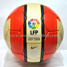 NIKE TOTAL 90 AEROW II Balón Oficial de la LFP 2007/2008
