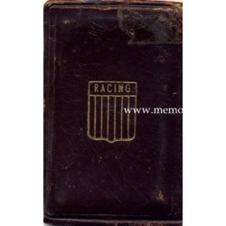 1957 Racing Club (Argentina) membership card