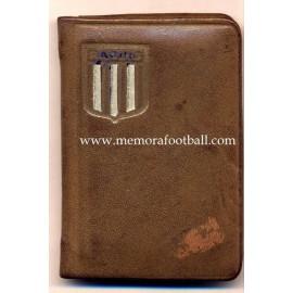 1940s Racing Club (Argentina) membership card