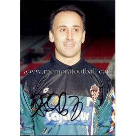 """ABLANEDO"" Sporting de Gijón 1990s card"