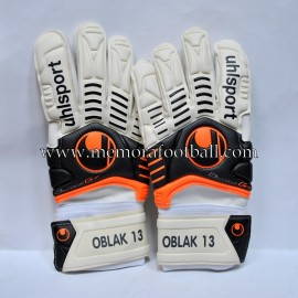 """OBLACK"" 2014-15 Atlético de Madrid original match gloves"