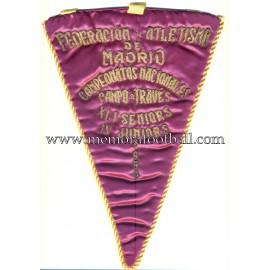Banderín de la Federación de Atletismo de Madrid 1959