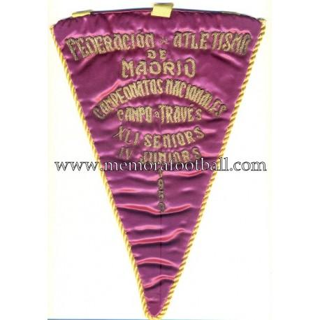 1959 Madrid Athletics Federation pennant