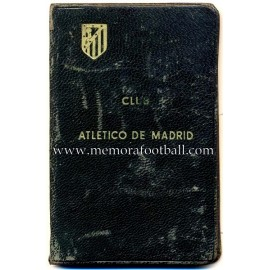 1940 Atlético de Madrid (Spain) membership card