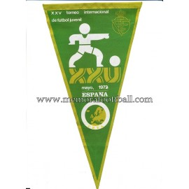 UEFA Youth European Cup Spain 1972 pennant