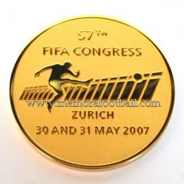 FIFA Zurich Congress 2007 medal