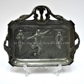 Ashtray with football scenes, c.1930 France