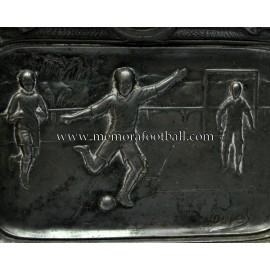 Ashtray with football scenes, c.1930 France