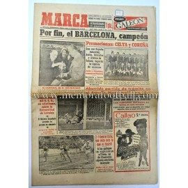"""MARCA"" Spanish newspaper May 4, 1953"