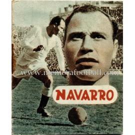 """Librito de """"NAVARRO"""" Real Madrid CF 1953"""