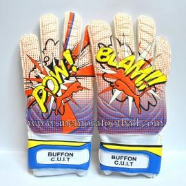 """""""Gianluigi BUFFON"""" 2015-16 Juventus FC match un worn gloves"""