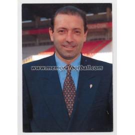 """QUINI"" Sporting de Gijón 1990s card"