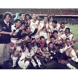 RCD Mallorca Spanish SuperCup 1997-98 Player Trophy vs FC Barcelona