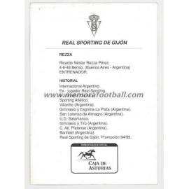 """REZZA"" Sporting de Gijón 1990s"