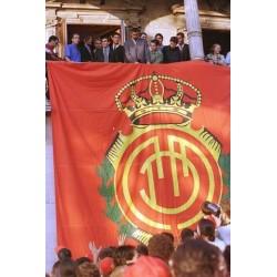 RCD Mallorca Supercopa de España 1996 Trofeo entregado a los jugadores