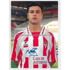 """DANI BOUZAS"" Sporting de Gijón 1990s"