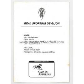 """MINER"" Sporting de Gijón 1990s"