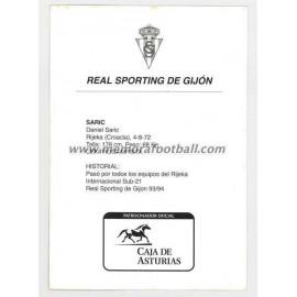 """SARIC"" Sporting de Gijón 1990s"