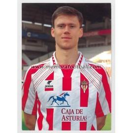 """""""LEDIAKHOV"""" Sporting de Gijón 1990s"""