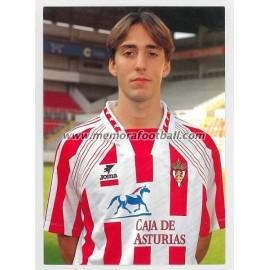 """DAVID CANO"" Sporting de Gijón 1990s"