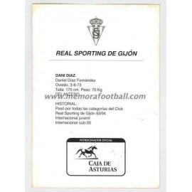 """DANI DÍAZ"" Sporting de Gijón 1990s"