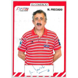 """MANOLO PRECIADO"" Sporting de Gijón 2007-08"