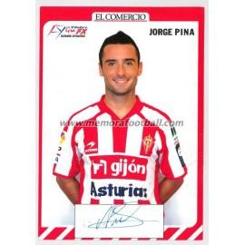 """""""JORGE PINA"""" Sporting de Gijón 2007-08"""