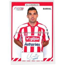 """""""BARRAL"""" Sporting de Gijón 2007-08"""