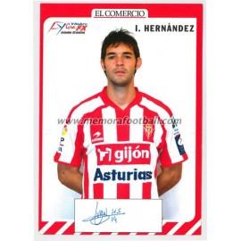 """""""IVAN HERNANDEZ"""" Sporting de Gijón 2007-08"""