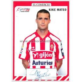"""""""KIKE MATEO"""" Sporting de Gijón 2007-08"""