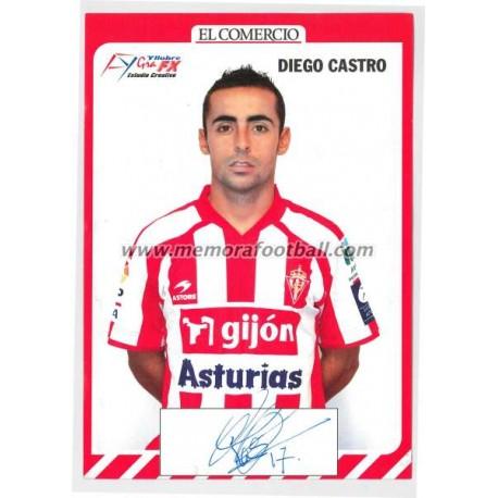 """""""DIEGO CASTRO"""" Sporting de Gijón 2007-08"""