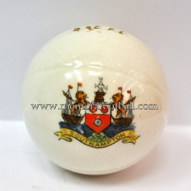 Crested china model of Football (SOUTHAMPTON)