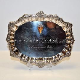 Real Sporting de Gijón  12-12-1990 plate
