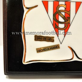 Placa del Real Sporting de Gijón 30-12-1994