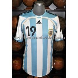 """""""MESSI"""" Argentina 2006-07 match unworn shirt"""