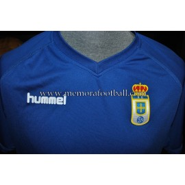"""CARLOS PEÑA"" Real Oviedo vs Combinado AFE 24-07-2015 match worn shirt"