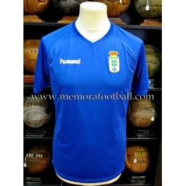 """IÑAKI DOMÍNGUEZ"" Real Oviedo vs Combinado AFE 24-07-2015 match worn shirt"
