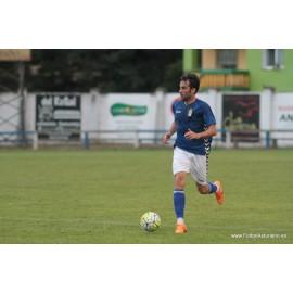 """IÑAKI DOMÍNGUEZ"" Real Oviedo vs Combinado AFE 24-07-2015 match worn"