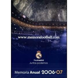 Memoria anual del Real Madrid 2006/2007